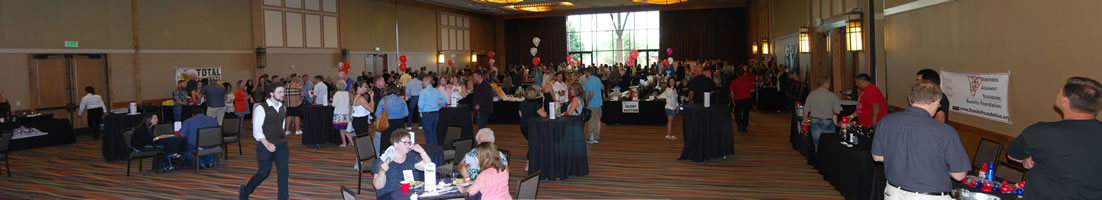 The 2017 Beer & Wine Tasting and Silent Auction Panoramic Photo