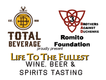 Total Beverage & The Romito Foundation - Life to the Fullest - September 14th, 2019